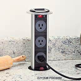 kitchen island electrical outlets enzy living alternatives to ugly outlets in kitchen islands