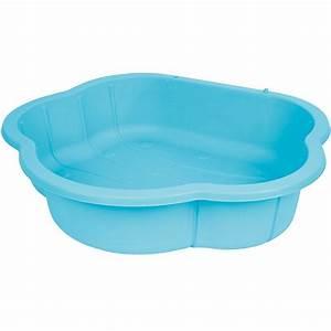 Bac À Sable Plastique : piscine bac sable bleu jouet de jardin jeu g ant ~ Melissatoandfro.com Idées de Décoration