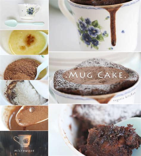 chocolate mug cake  minute microwave recipe