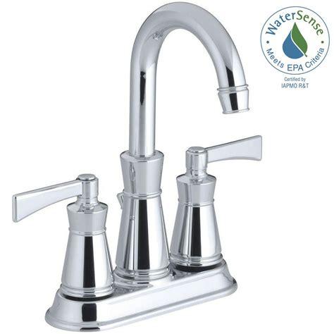 kitchen sink home depot kohler centerset bathroom chrome faucet chrome centerset 5826