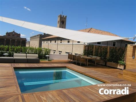 retractable sail awnings by corradi
