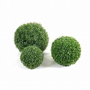 Boule Buis Artificiel : buis artificiel en boule artificiel single 15 75cm topiaires artificiels buis ~ Teatrodelosmanantiales.com Idées de Décoration