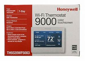 Best Honeywell Wifi 9000 Color Touchscreen Thermostat