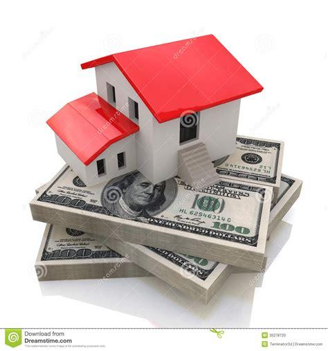 House On Money Stock Illustration Image Of Market