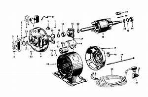 Electric Motor Diagram Parts