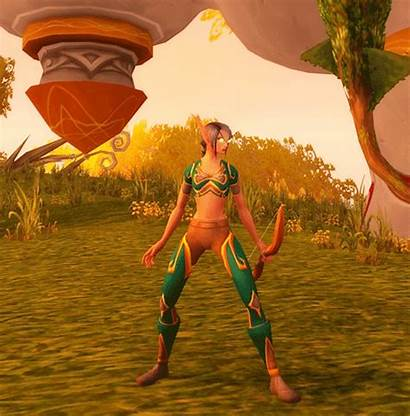 Blood Female Elves Wow Animation Bow Got