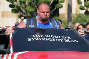 Meet The World's Strongest Man Who Eats A Whopping 12,000 ...