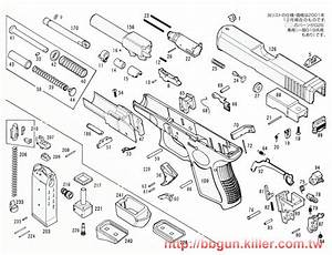 4 best images of glock 19 parts diagram glock internal With glock 22 diagram