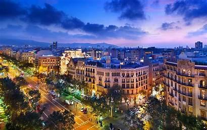 Barcelona Spain Wallpapers Desktop Travel Backgrounds Hotels