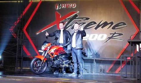motocorp unveiled xtreme 200r ahead of 2018 auto expo