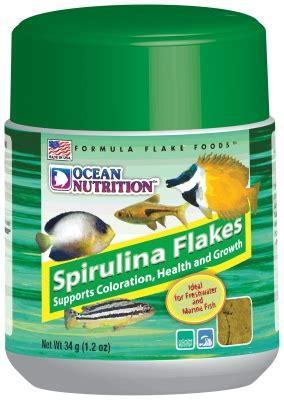 Ocean Nutrition 25480 Spirulina Flake Fish Food, 12 Oz