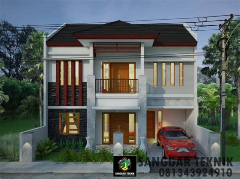 desain rumah minimalis  lantai bali desain rumah