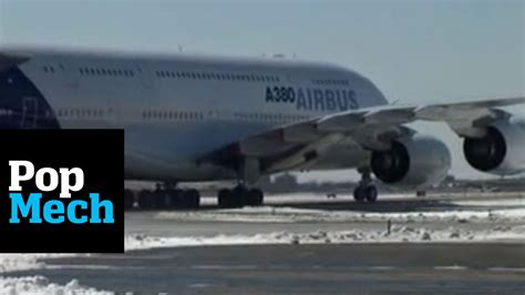 Airbus A380 Test Drive  Popmech Youtube
