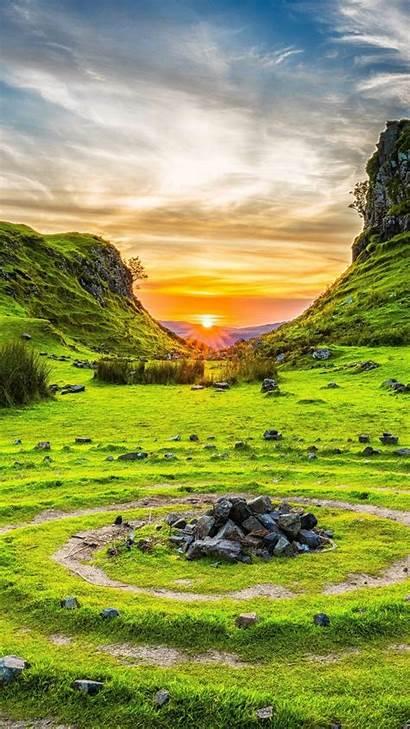 Nature 4k Scotland Skye Isle Fairy Glen