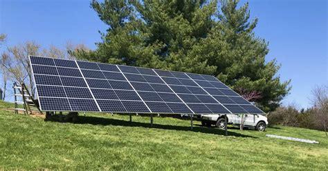 Richard's Ground Mounted Solar Array | IM Sustainable