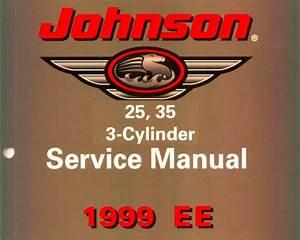1999 Johnson Ee 25hp   35hp 3