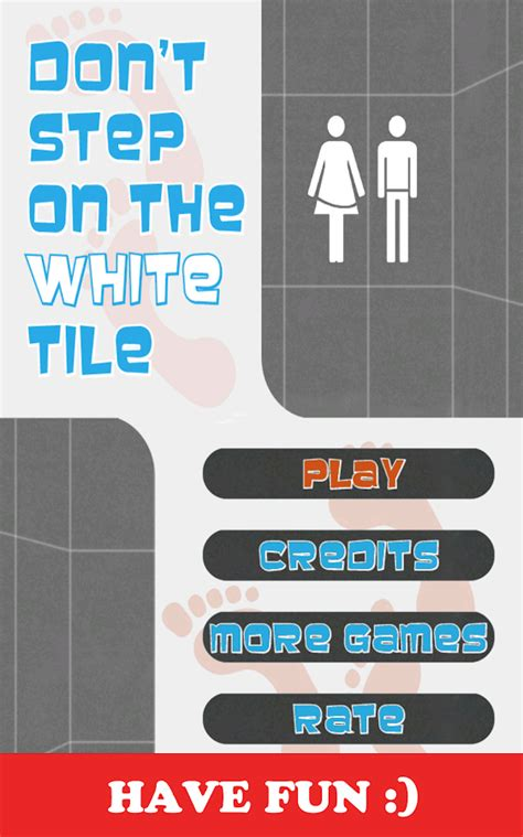 dont step on the white tile dont step on the white tile android apps on play