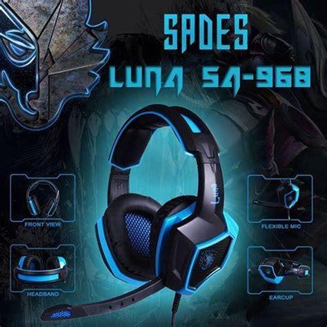 Sades Sa 968 Gaming Headset headset gaming sades sa 968 terabit komputer