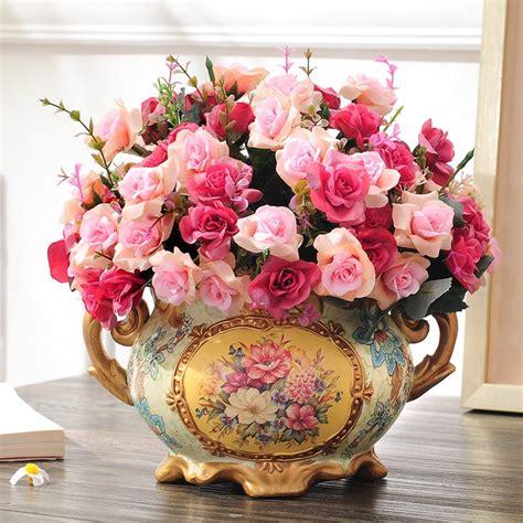 flower decoration flower vase set  living room table