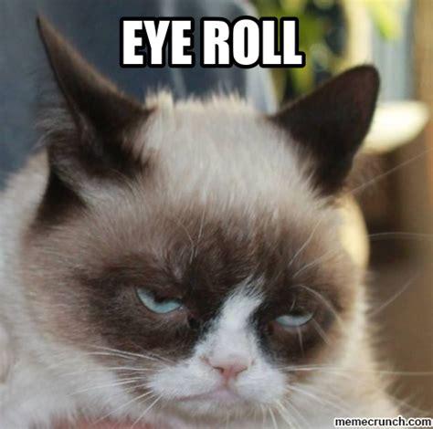 Rolls Eyes Meme - eye roll