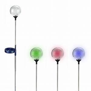Solar Deko Für Balkon : solar solarkugel mit farbwechsler ~ Bigdaddyawards.com Haus und Dekorationen