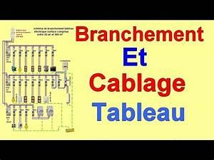 Tableau Electrique Schema : branchement cablage installation tableau electrique maison ~ Melissatoandfro.com Idées de Décoration