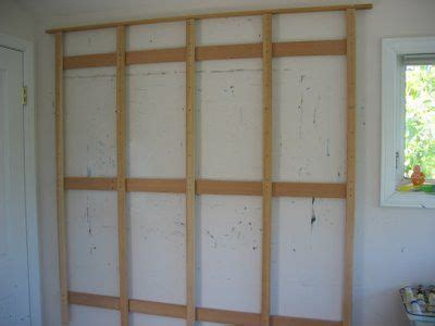 wall easel system woodworking projects plans