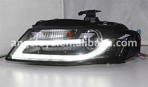 2009 2012 year headlights for audi a4 b8 led