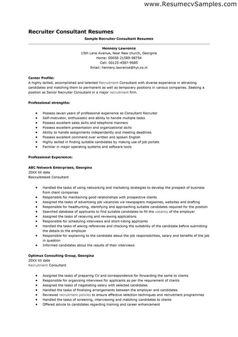 recruiting manager resume template recruiter resumes