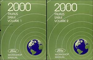2002 Ford Taurus Mercury Sable Service Shop Set 2 Volume Set And The Wiring Diagrams 1982 Gesficonline Es