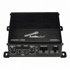 Audiopipe Apmcr4060 1000 Watts 4 Channel Stereo Car Audio