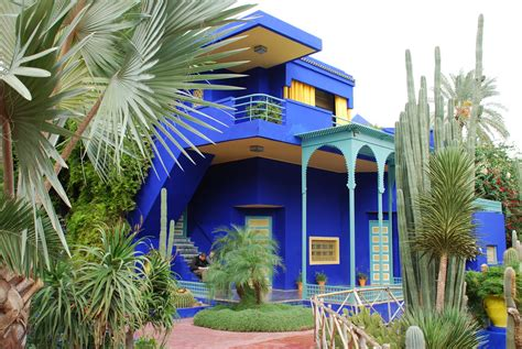 Majorelle Gardens  Morocco The Garden Of Eaden
