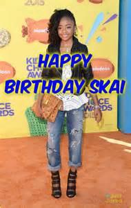 Skai Jackson 13th Birthday