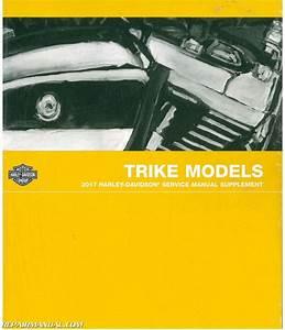 2017 Harley Davidson Trike Motorcycle Parts Manual