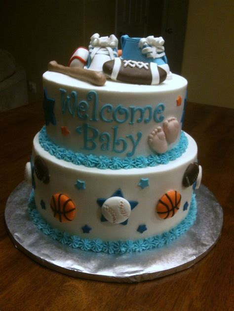 ideas  simple baby shower cakes  pinterest