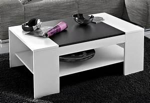 Weißer Tisch Mit Holzplatte : couchtisch online kaufen wohnzimmertisch otto ~ Bigdaddyawards.com Haus und Dekorationen