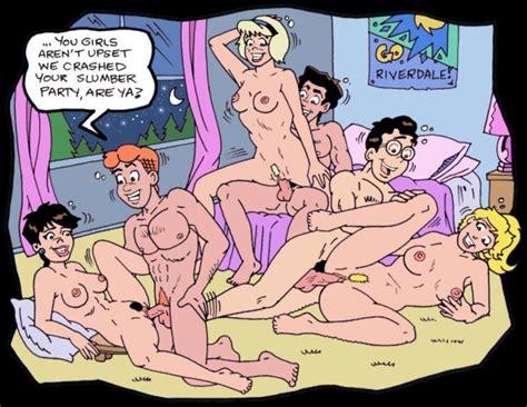 Archie, Betty, Veronica Naked and Fucking 2 - PornHugo.Com