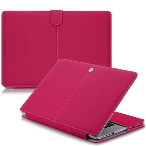 housse mac book air 11 housse aspect cuir fuchia macbook air 11 pouces achat vente housse d ordinateur