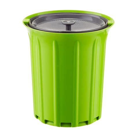 countertop compost bin circle 3 4 qt countertop compost bin the