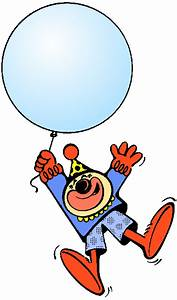 Clown With Balloon Blank  Blanks  Shapes  Clown With
