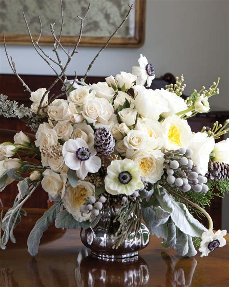 favorite winter floral arrangements