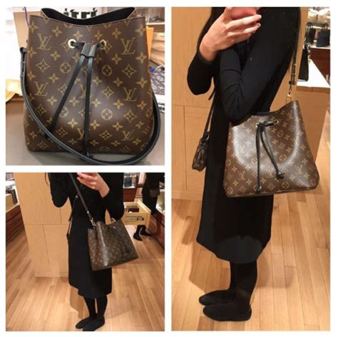 louis vuitton monogram canvas neonoe bag reference guide spotted fashion