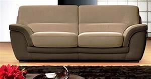 canape cuir contemporainpersonnalisable sur univers du cuir With univers du cuir canape