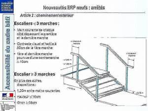 Hauteur Marche Escalier Extérieur : norme marche escalier impressionnant hauteur erp public giron ~ Farleysfitness.com Idées de Décoration