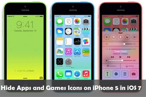 cant apps on iphone hide apps and icons on iphone 5 in ios 7 without