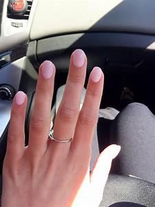 Round acrylic nails | Acrylic Nails | Pinterest | Rounded ...