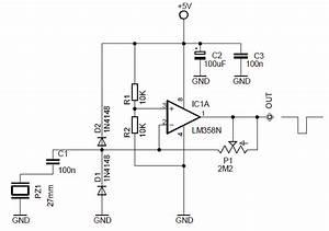 Vending Machine Drop Sensor Circuit