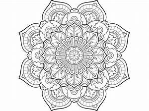 Malvorlagen, Mandala