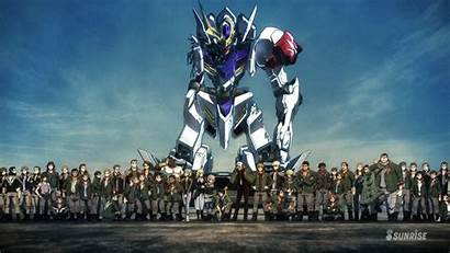 Orphans Blooded Gundam Iron Season Anime
