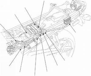 Cable Harness Routing - Honda Cbr 600 F4i